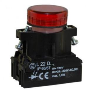 Сигнальная лампочка, световой индикатор L22 PROMET купить в Минске. Доставка по Беларуси.