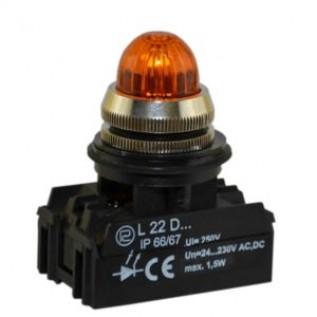 Сигнальная лампочка, световой индикатор L22G PROMET купить в Минске. Доставка по Беларуси.