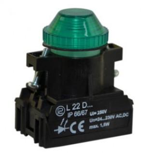 Сигнальная лампочка, световой индикатор L22W PROMET купить в Минске. Доставка по Беларуси.