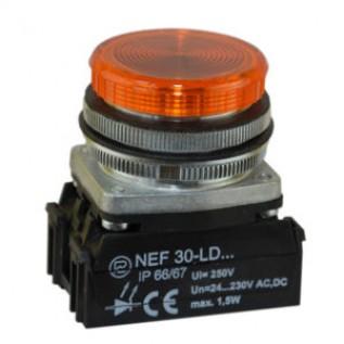 Сигнальная лампочка, световой индикатор NEF30-1 PROMET купить в Минске. Доставка по Беларуси.