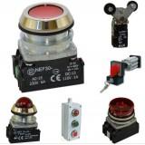 Кнопки и переключатели PROMET. Электротехническая продукция SN PROMET.