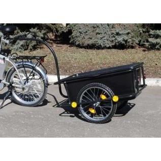 Прицеп для велосипеда, велоприцеп, велотележка, грузовой велоприцеп купить в Минске.